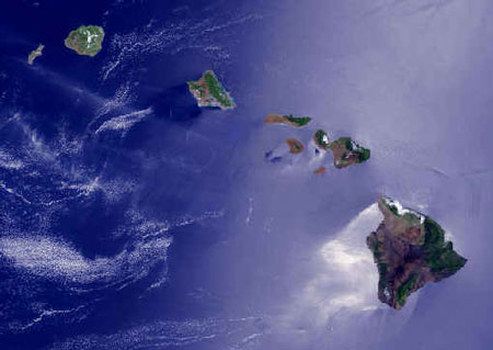 Hawaiian Island Chain